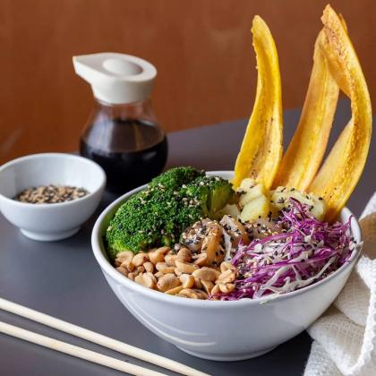 Bowl Fit + Chá Feel Good por apenas R$ 28,40! (Shopping Frei Caneca)