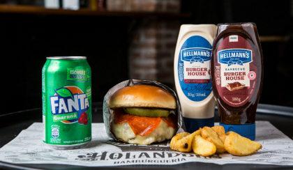 Combo a partir de R$ 25: Tomato Burger + Batata Frita Individual + Refrigerante!