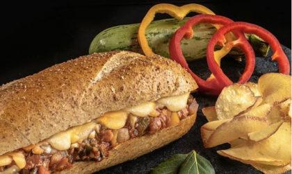 Vegetariano + Chips da casa + Refri + Sobremesa por apenas R$ 28,00!