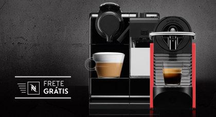 Máquinas Nespresso com 20% de desconto + Frete Grátis no site!