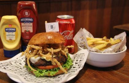 Combo R$ 36,90: Burger Veggie + Fritas + Cerveja Madalena Long Neck [+18]