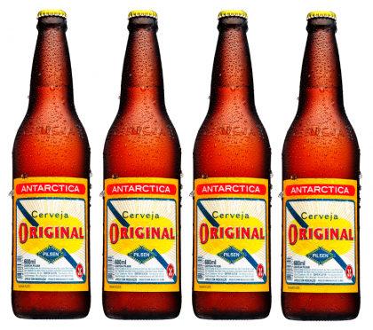 Cerveja Original 600ml: compre 3 e ganhe a 4ª