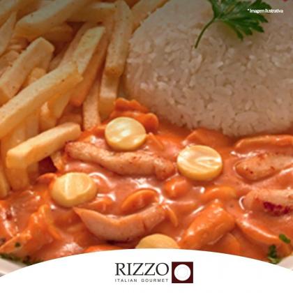 O delicioso Strogonofe Rizzo + Suco por apenas R$22,90!