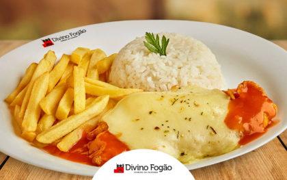 Parmegiana de Frango + Suco de Laranja por apenas R$ 18,90!