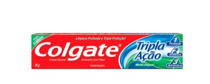 Creme Dental Colgate Tripla Ação Menta 90g com 25% de desconto!