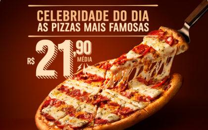 Domino's Pizza: todos os dias um sabor diferente por R$21,90