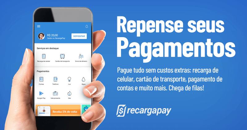 Cupom RecargaPay: 4 serviços para aproveitar com desconto!