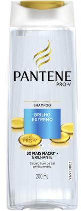 Shampoo Pantene Brilho Extremo (200ml) com 10% de desconto!