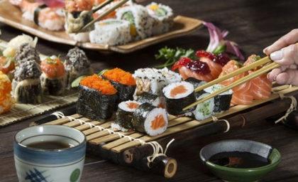 Rodízio Japonês no almoço por apenas R$ 48,90!