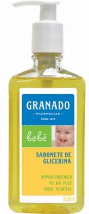 Sabonete Granado Líquido Infantil Glicerina 250ml com 10% de desconto!