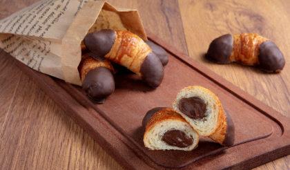 Mini Croissants de Chocolate (10 unidades) por apenas R$ 23,20 ♥