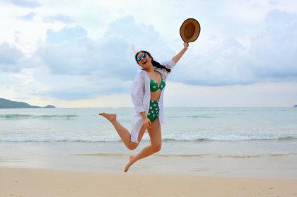 Cupom de 10% OFF em itens de Moda Praia Capricho no site da Marcyn
