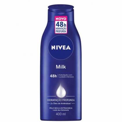 Hidratante Desodorante Nivea Milk 400ml com 5% de desconto!
