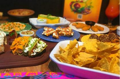 Rodízio Mexicano Completo + Sobremesa por apenas R$ 42,90!