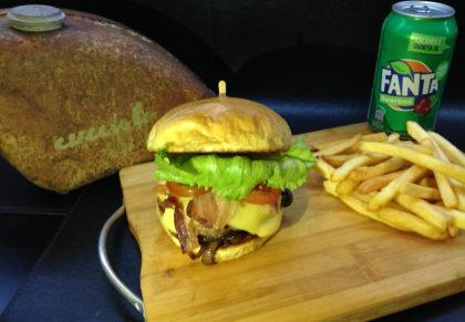 Combo: Fat Boy + Fanta Guaraná + Fritas por apenas R$ 24,90!