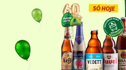 SITE: Todas as Cervejas Especiais com 50% de desconto! [+18]