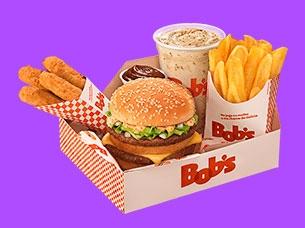 Bob's Box Big Bob ou Cheddar Duplo por apenas R$ 18,90!