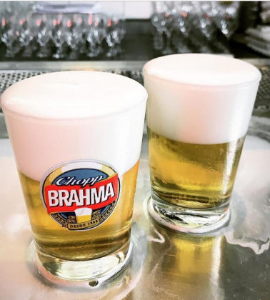 Chopp Brahma em Dobro!