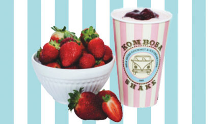 Todos os deliciosos MilkShakes de frutas do Kombosa por apenas R$10!