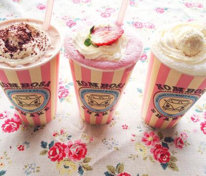 Qualquer MilkShake do Kombosa por apenas R$14!