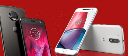 Cupom de 10% OFF em smartphones Motorola no site do Carrefour