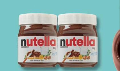 Creme de Avelã Nutella 350g por apenas R$16,90!
