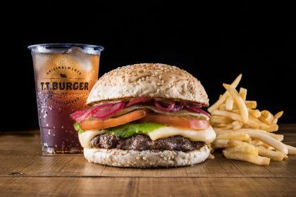 GANHE R$15 no T.T. Burger para o seu primeiro pedido no iFood!