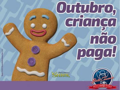 Ingresso GRÁTIS para crianças em Outubro no Beto Carrero World!