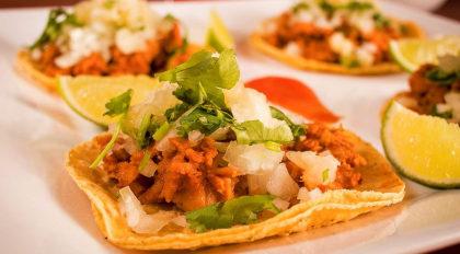 TODOS OS DIAS: O incrível Taco Al Pastor por apenas R$ 16,90!