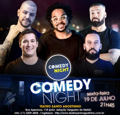 COMEDY NIGHT: Ingresso por apenas R$ 25!