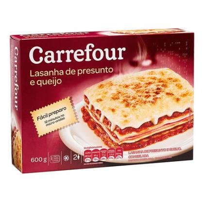 Lasanha Carrefour com 20% de desconto!