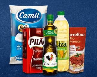 Cupom de 15% OFF em compras em itens de mercado no site do Carrefour