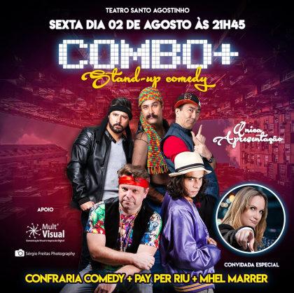 COMBO + Stand Up Comedy: Ingresso por apenas R$ 24,90!