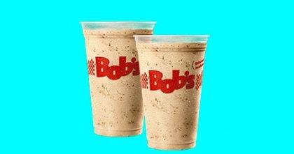 2 Milk Shakes Médios por apenas R$ 16,00!