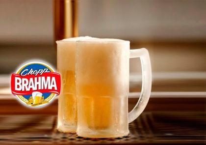 Happy Hour: Chopp Brahma pela metade do preço!