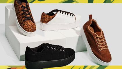 Leve 3 e pague 2 em calçados no site da Marisa