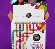 GANHE  20 cápsulas comprando uma caixa Do Seu Jeito de 100 no site da Dolce Gusto