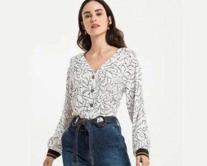 Cupom de 10% OFF na lista selecionada de camisas no site da Renner