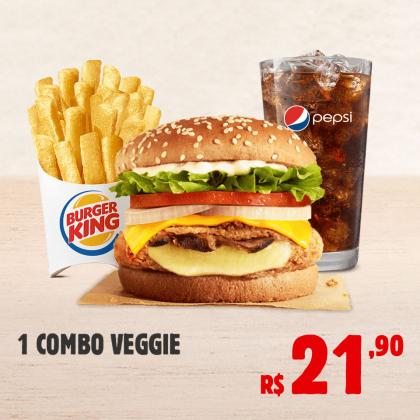 1 Combo Veggie por apenas R$ 21,90!