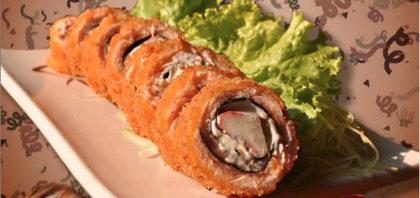 6 Hot Roll + Shimeji + 4 Empanado Sil + Salada Sunomo por apenas R$36,90!