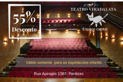 Festival de Férias Viradalata com 55% OFF!