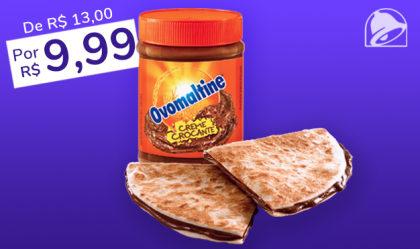 2 Chocodillas com Creme Crocante de Ovomaltine® por apenas R$9,99!