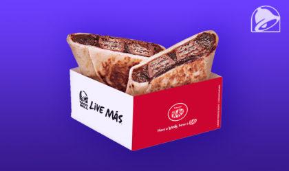 GANHE um Mini-Burrito de Kit Kat na compra de qualquer Combo ou Box!