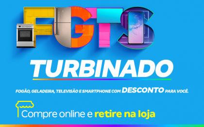 FGTS Turbinado: Fogão, Geladeira, Televisão e Smartphone com desconto!