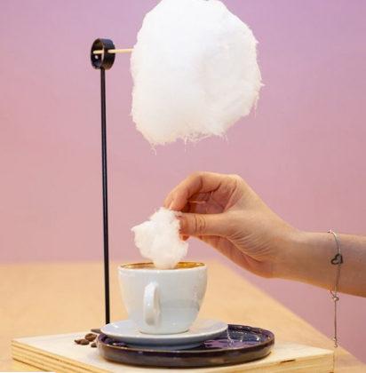 Café Espresso com nuvem + Casquinha decorada por apenas R$16,15!
