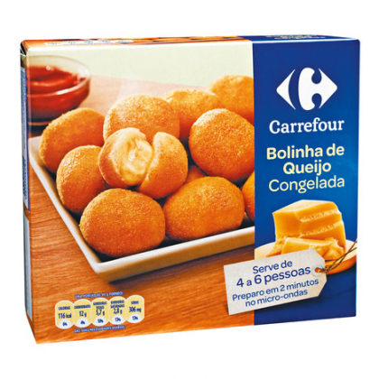 Salgadinhos Congelados Carrefour com 20% de desconto!