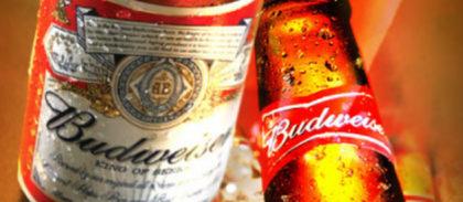 A primeira Budweiser por conta da casa!