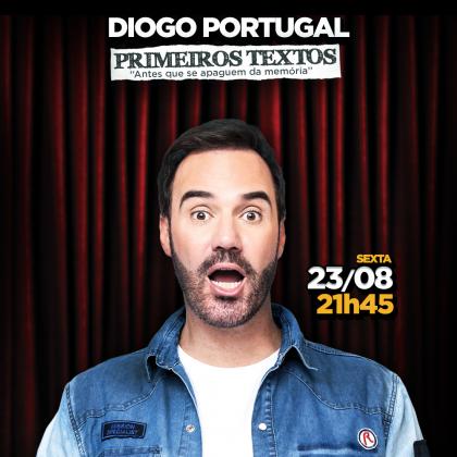 """Diogo Portugal – Stand Up Comedy: """"Primeiros Textos"""" por apenas R$24,90!"""