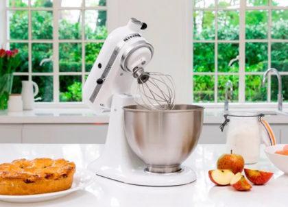Cupom de 20% OFF na Batedeira Stand Mixer KitchenAid Classic White no site KitchenAid
