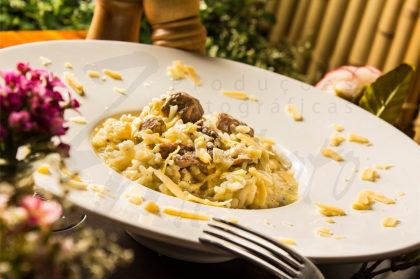Risoto de Filet Mignon + Suco de Laranja por R$ 40!
